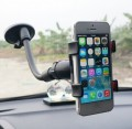 Car holder for phone/ mobile (iPhone, Samsung, HTC) or any other brand. Also, the holder can be used to mount GPS navigation units. The holder rotates 360 Degrees.